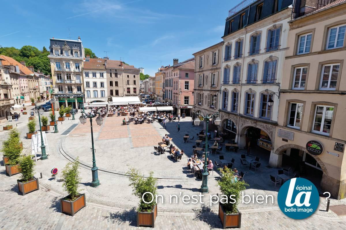 Place des Vosges - Épinal