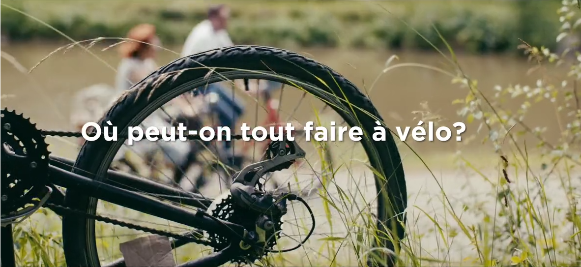 Où peut on tout faire à vélo ?