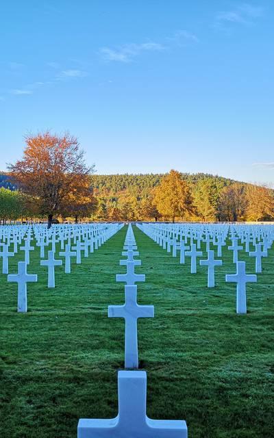 Cimetière américain - Patrimoine Epinal - Histoire Vosges