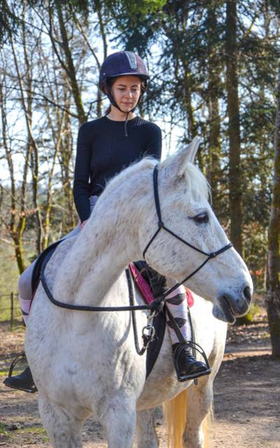 Balade à cheval - Equ'Crin d'Olima - Faire du cheval dans les Vosges - Equitation Epinal - Centre équestre Epinal