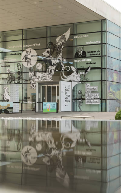 Musée de l'Image - Exposition temporaire - Musée Epinal - Imagerie d'Epinal - Cité de l'image