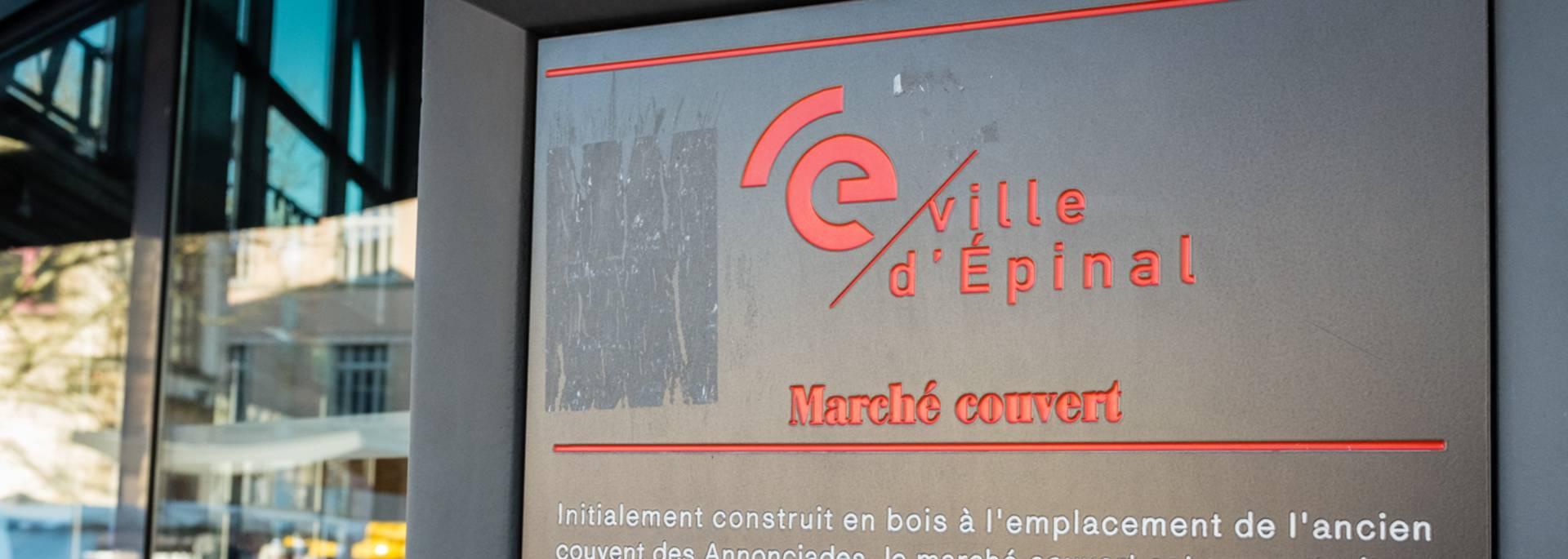 Marché Epinal - Marché couvert - Produits locaux - Produits du terroir - Produits vosgiens - Marché du terroir - Place aux producteurs - Producteurs locaux