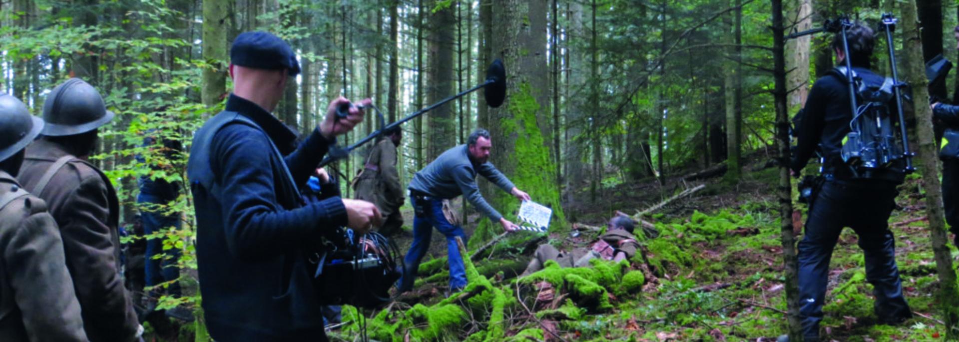 Nos patriotes - Tournage film Vosges