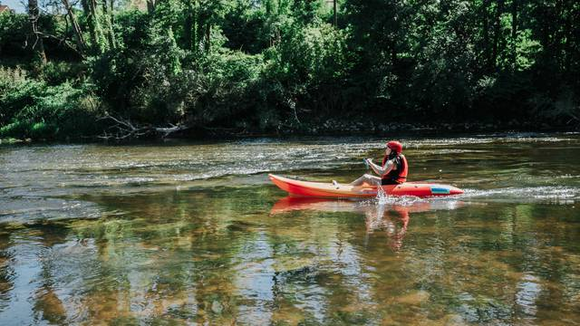 A l'abordage de la boucle nature en canoë kayak !