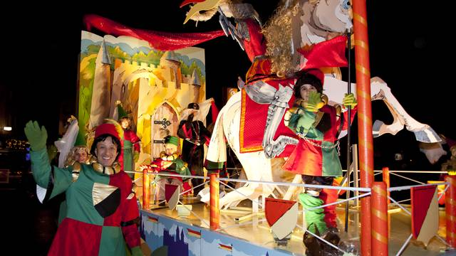 Le Défilé de la Saint-Nicolas à Épinal