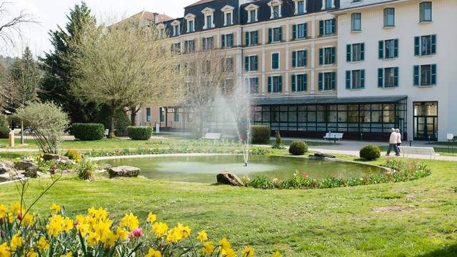L'Office de Tourisme de La Vôge-les-Bains