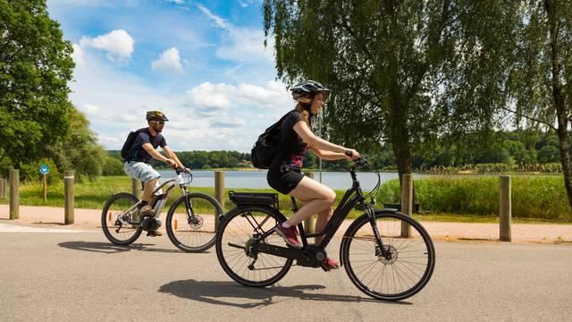 Vélo Bouzey - Voie bleue - voie verte - itinérance à vélo - Vosges en vélo - Vélo Epinal