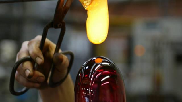 Cristallerie de Portieux - Travail du verre - Artisan verrier