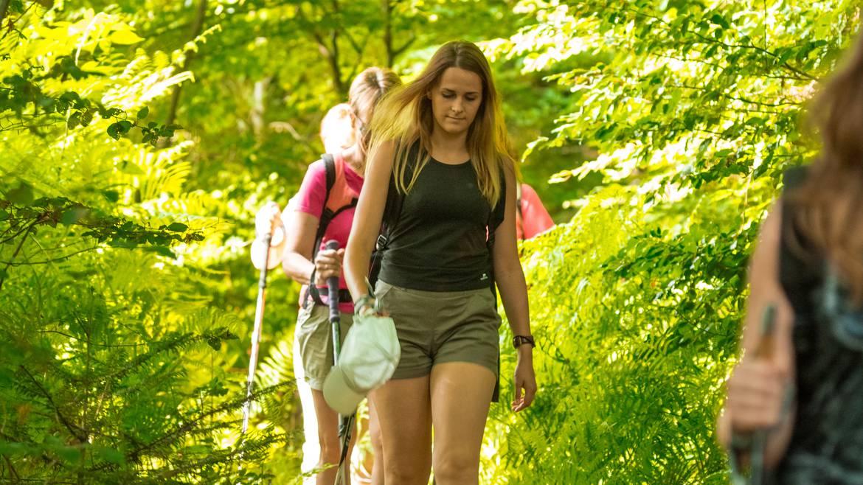 Laissez-vous guider pour vous dépasser et découvrir le milieu dans lequel vous marchez.