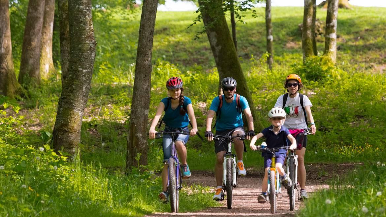 ÉTAPE 1 - Vélo en famille