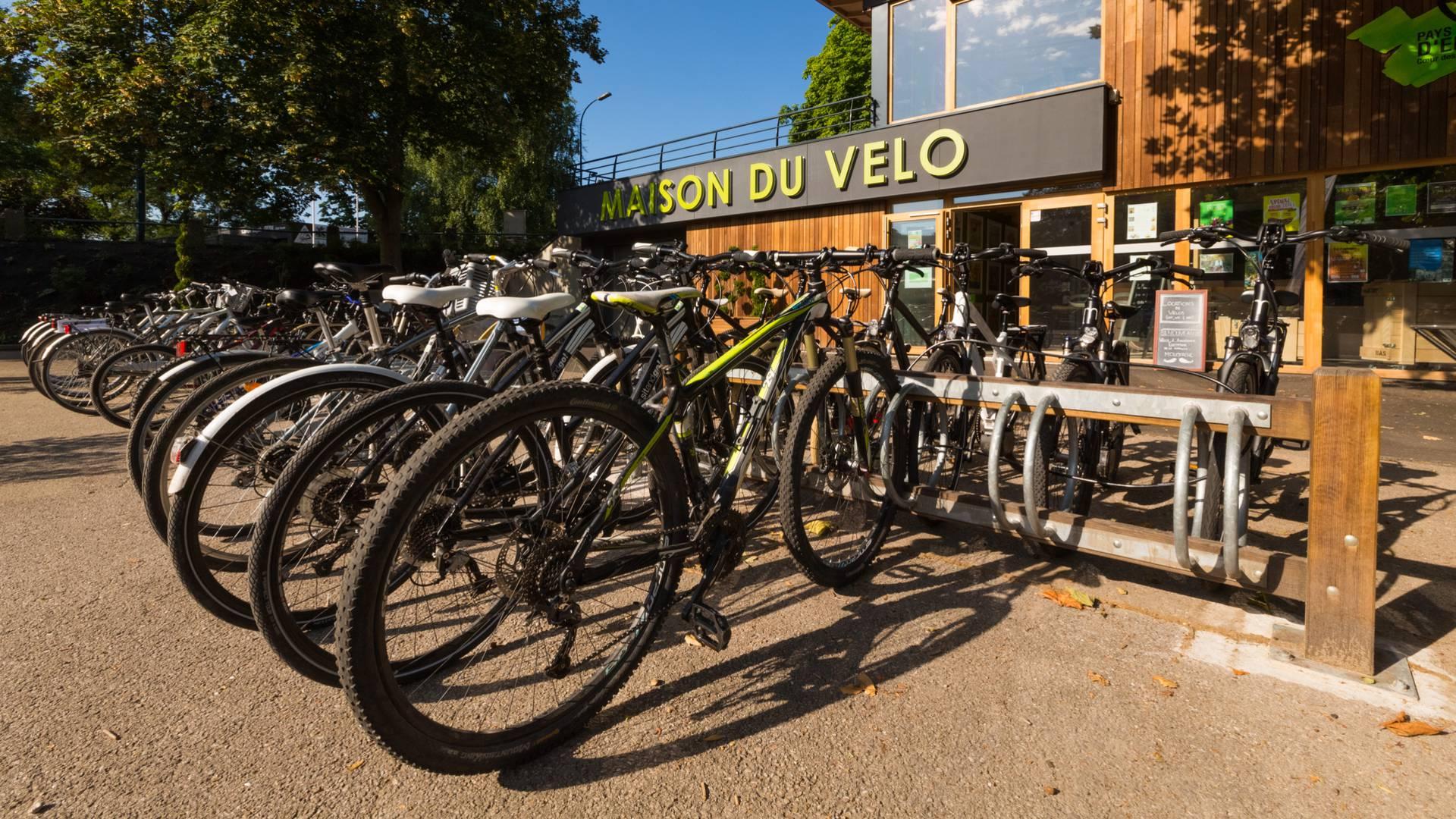 Vélo Epinal - Maison du vélo Epinal - Louer un vélo - Véloroute Epinal - Piste cyclable Vosges