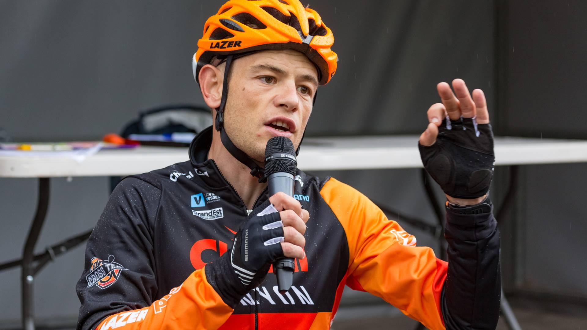 Steve Chainel - semaine fédérale du Cyclotourisme - Champion VTT Vosges