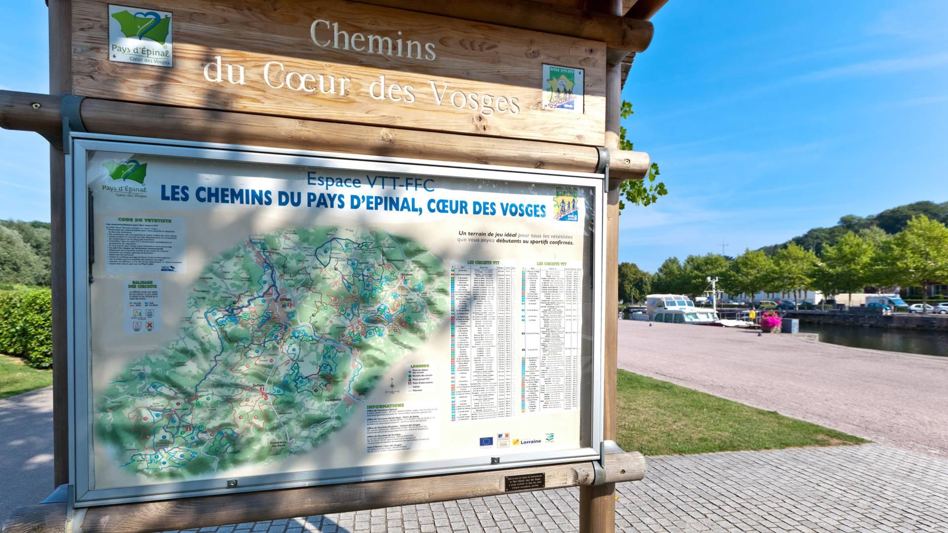 Véloroute Vosges - Voie bleue - Piste cyclable Vosges - Vélo de route Vosges