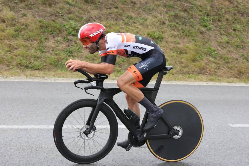 Course contre la monte - Championnat de France de cyclisme sur route