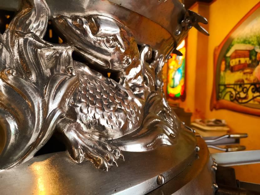 Le four rotatif de la Maison Meire -  Fête Saint-Maurice Épinal - Fête foraine Epinal - Activités Epinal - Manège Epinal - Ambiance Western au saloon pour la fête de la Saint-Maurice