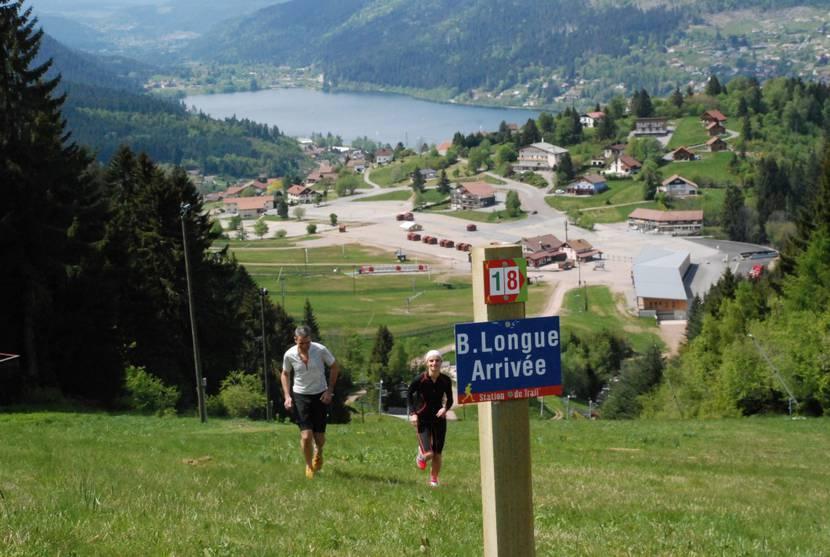 Station de trail à Gerardmer - Trail Vosges - Courir en montagne