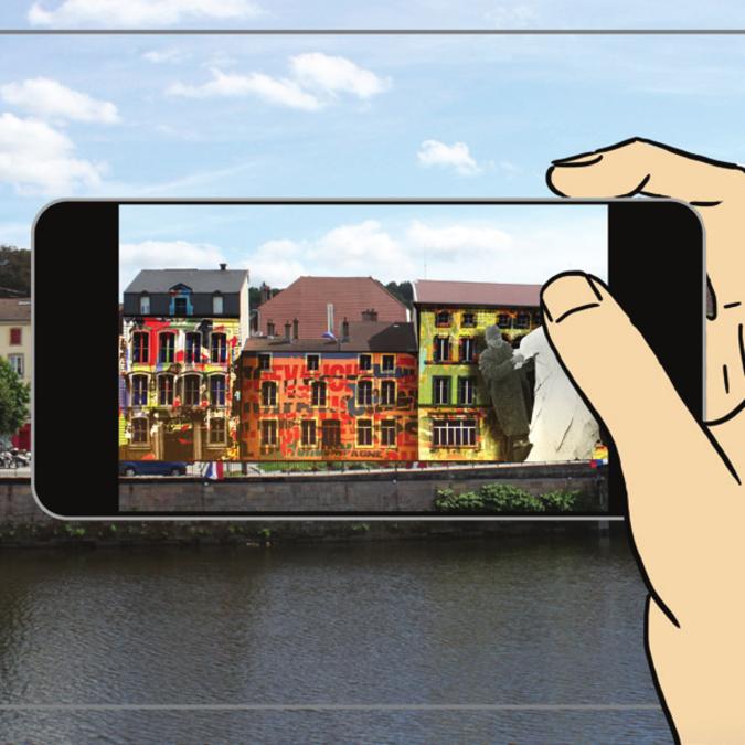 Application Fête des Images Epinal - Application réalitée augmentée