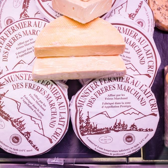 Marché Epinal - Marché couvert - Produits locaux - Produits du terroir - Produits vosgiens - Marché du terroir - Place aux producteurs - Producteurs locaux - Fromage vosgien - Munster