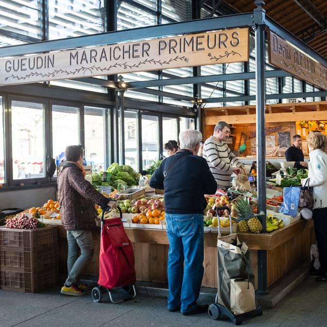 Marché Epinal - Marché couvert - Produits locaux - Produits du terroir - Produits vosgiens