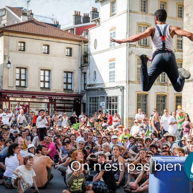 Rues & Cies - Festival de spectacles de rues au coeur d'Épinal